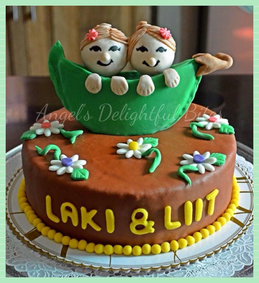 Melanie Arjona Larino's Cute Cake