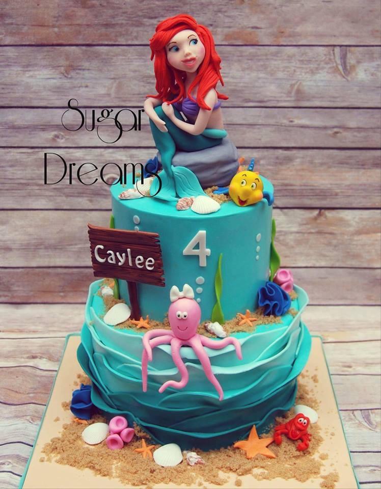 Mermaid Themes Cake by Sugar Dreams