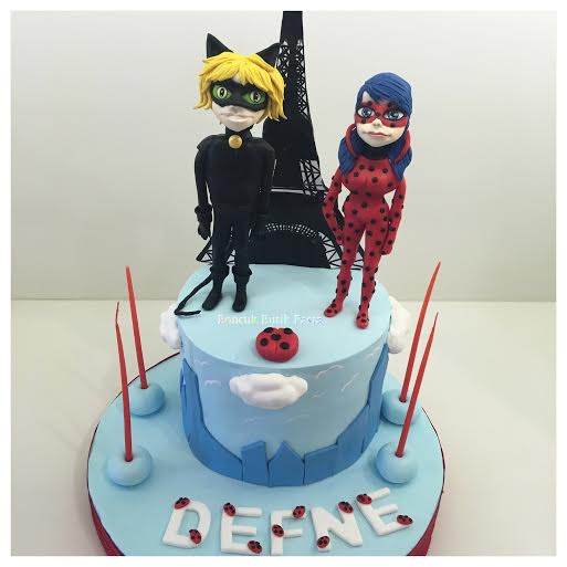 miraculous ladybug cake by gonca yanut amazing cake ideas