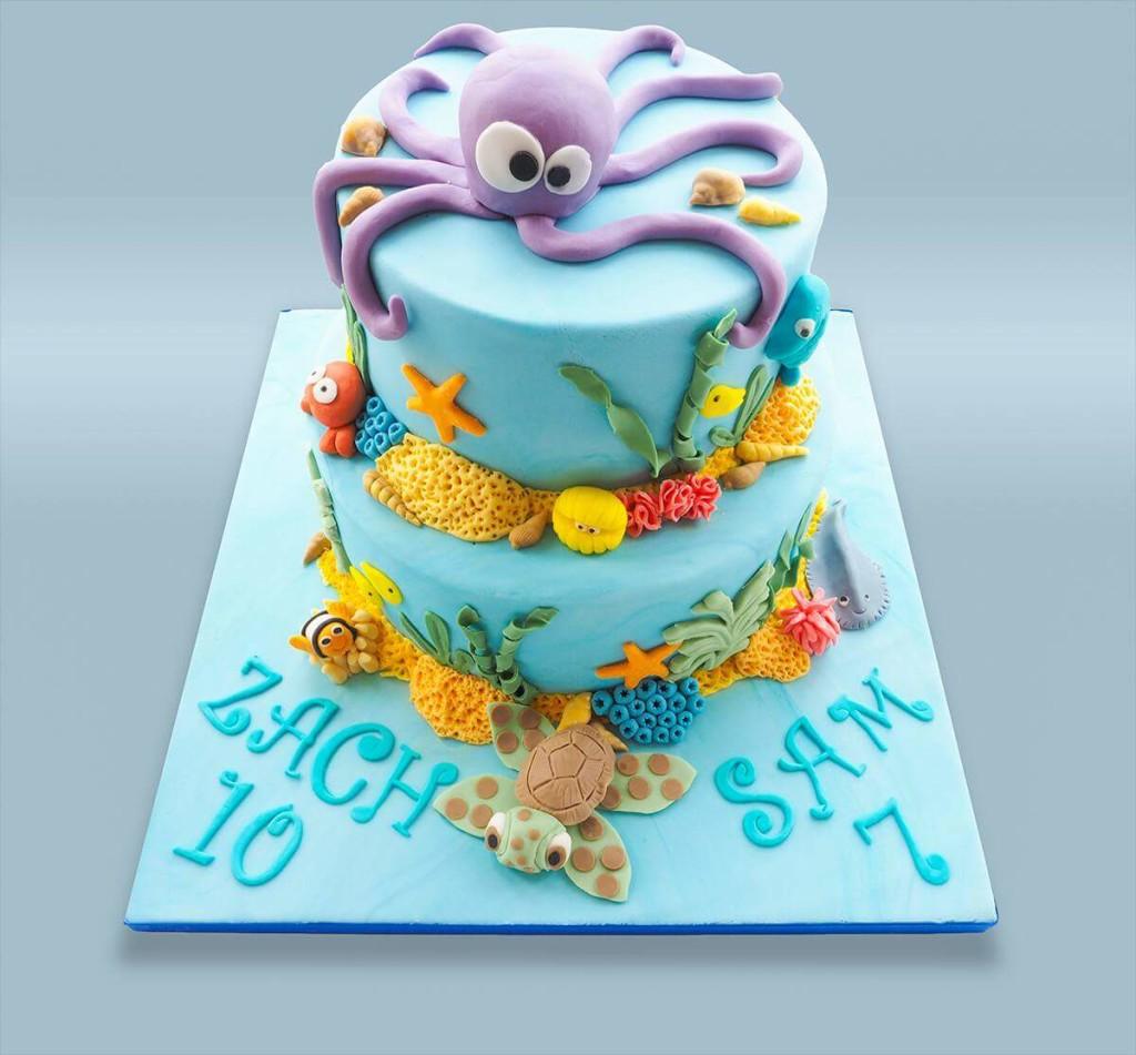 Octopus Cake by Debbie Henaux