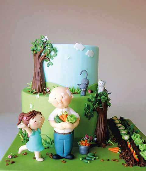 Pasteles de Ensueño's Cake