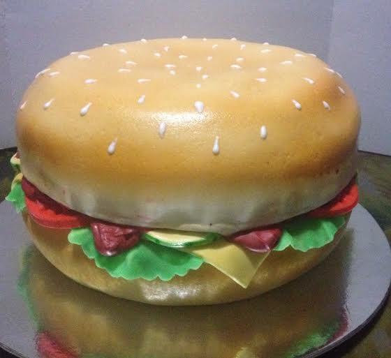 Riza Badilla's Big Mac Cake