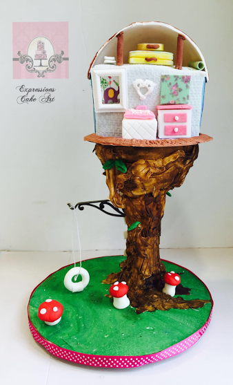 Very Creative Cake by Su from Expressions Cake Art