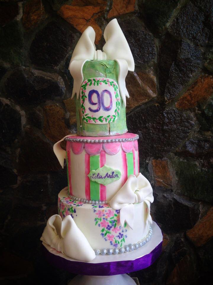 90th Birthday Cake By Daniel Guiriba Amazing Cake Ideas
