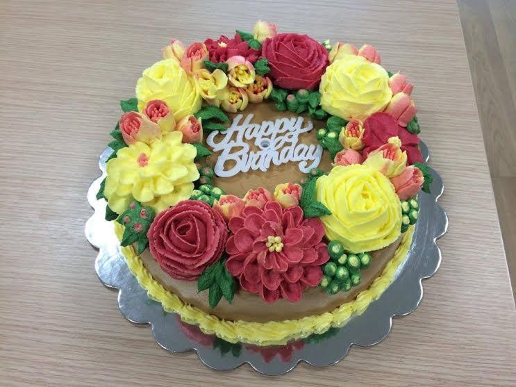 Birthday Cake by Suzette DCunha of Cake Diaries - Dubai Edition
