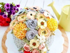Flowers Cake by KisR