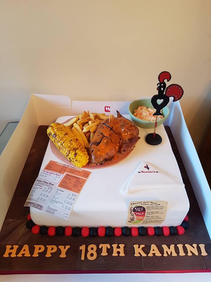 Harpreet Pangali S Unique Birthday Cake