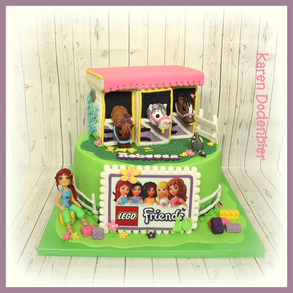 Karen Dodenbier Lego And Friends Cake Amazing Cake Ideas