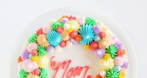 Mother's Day Cake - Open Star Tip Cake