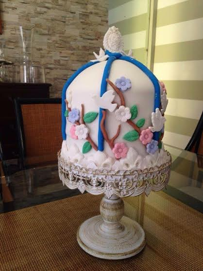 Birds' Cage Cake by Laura Fermo