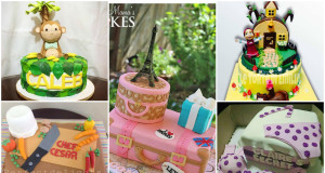 Sophisticated 3D Style Cakes Friendly Competition