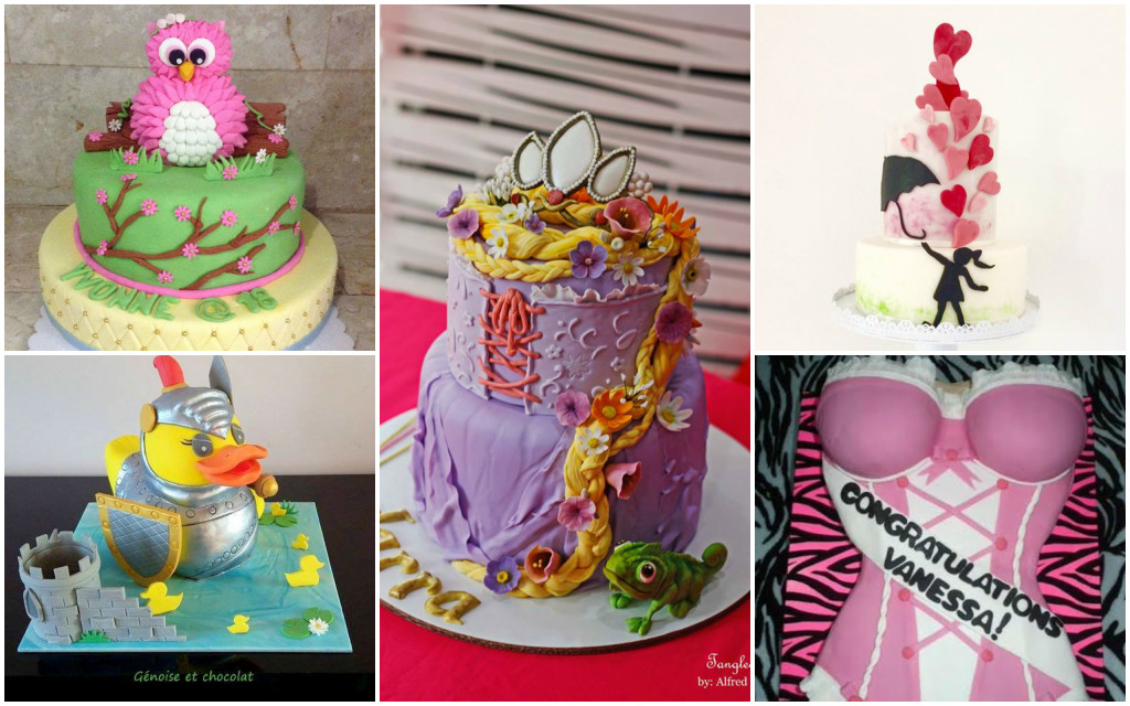 A Competition In Searching The Most Modern Design Cakes