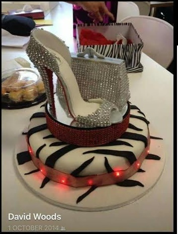 High Heels Cake by Christine Woods