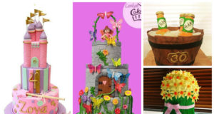Showing to you the awesome cakes from the nominees who are very qualified to be awarded as the World's Most Reliable Cake Artist.