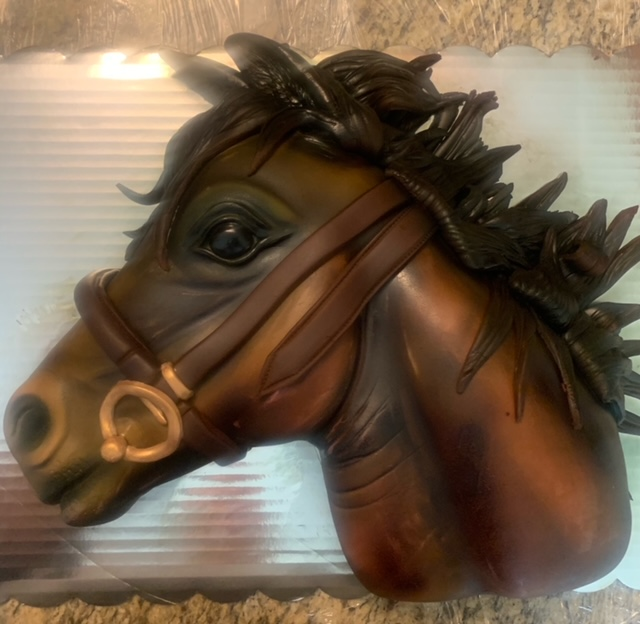Horse Cake by Brandi Harms of Over The Moon Custom Cakes